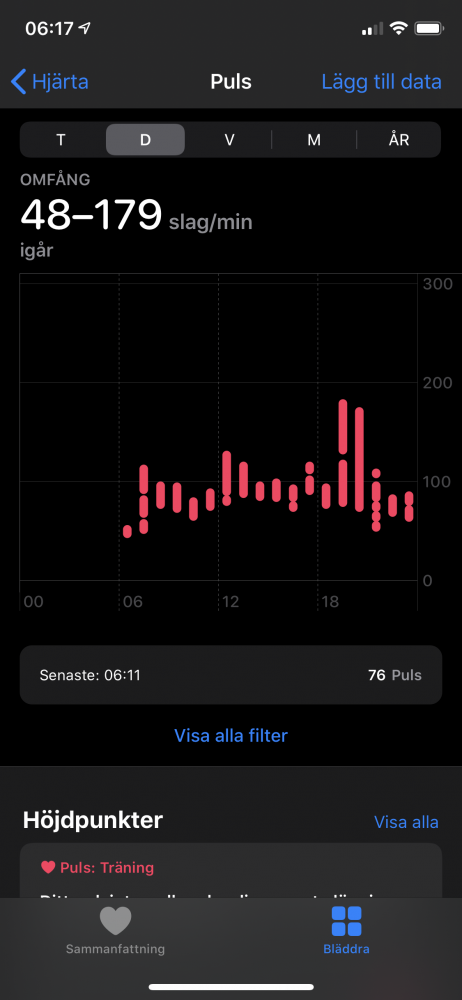 Apple watch 5 test puls