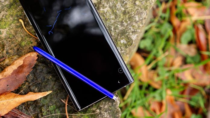 Recension Samsung Galaxy Note 10 S Pen