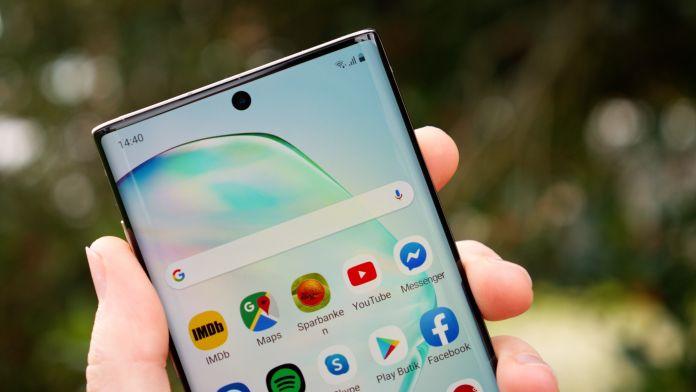 Test Samsung Galaxy Note 10 batteri