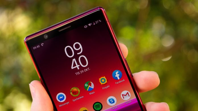 Test Sony Xperia 5 batteri