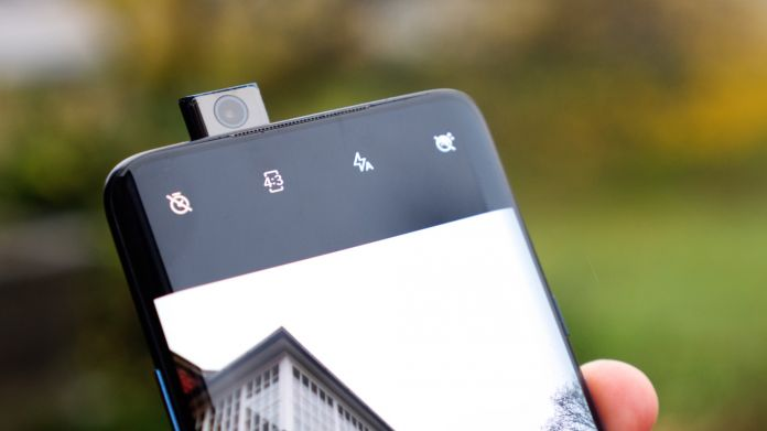 OnePlus 7T Pro selfie kamera