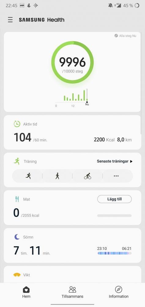 Samsung Health Galaxy Watch Active 2