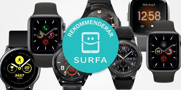 Sveriges bästa smartwatch i Smartwatchguiden