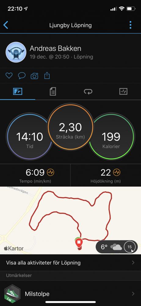 GPS test Garmin Vivoactive 4s