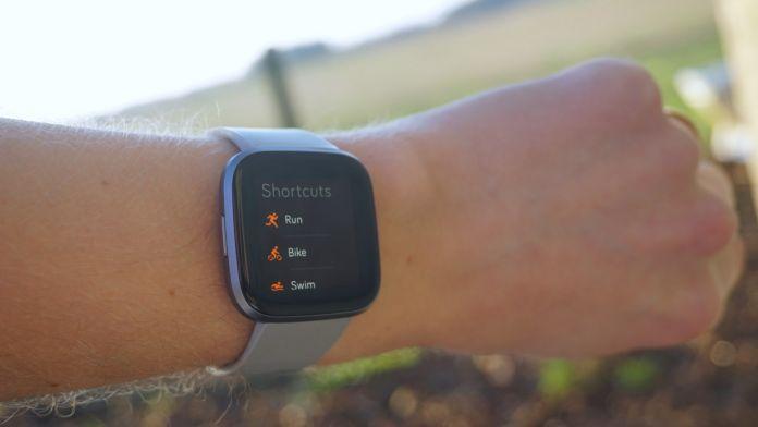 Fitbit Versa 2 GPS-test