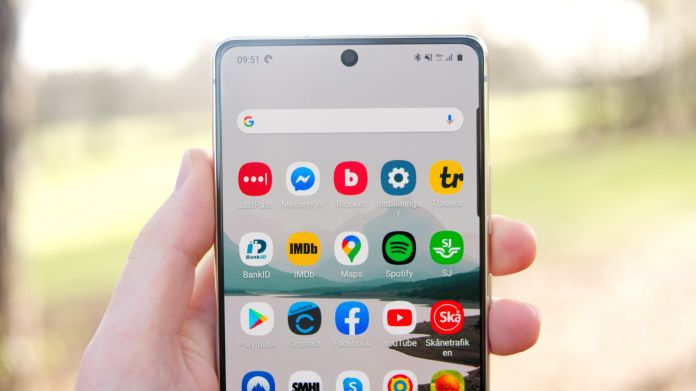 Test Samsung Galaxy S10 Lite batteri