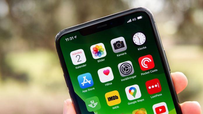 Test av iPhone 11 Pro Max batteri