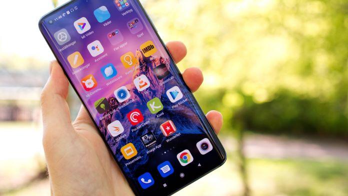 Xiaomi Mi 10 skärm