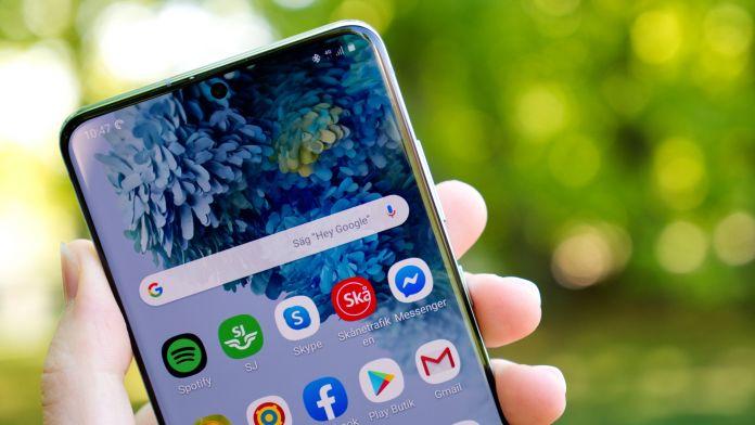 Test Samsung Galaxy S20 Plus batteri