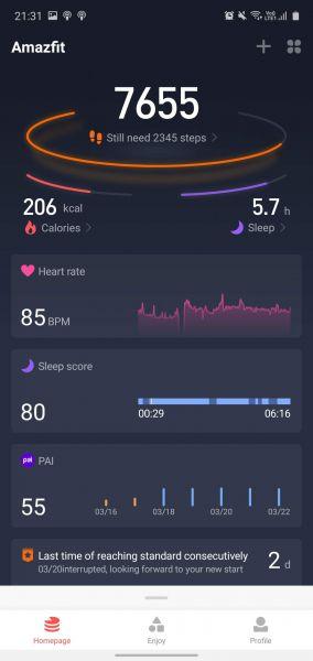 Amazfit App test