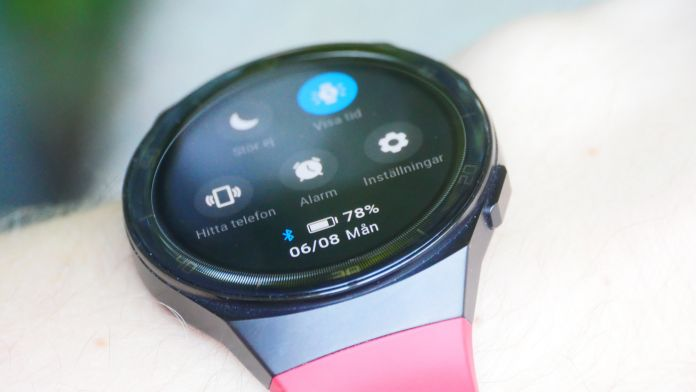 Batteri Test Recension Huawei Watch