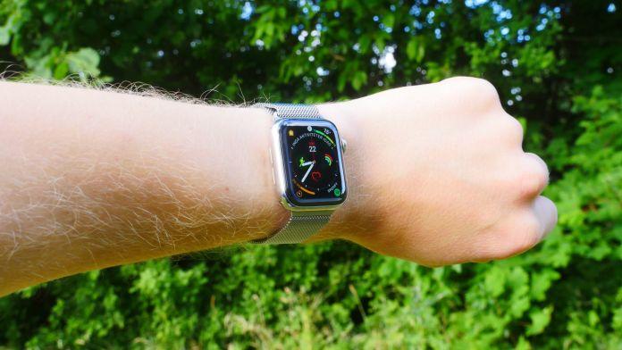 test hårdvara och design Apple Watch series 5 rostfritt stål