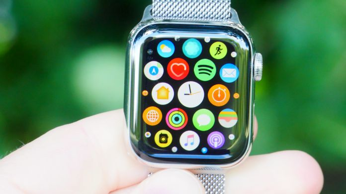 Skärm skärmkvalitet Apple Watch 5