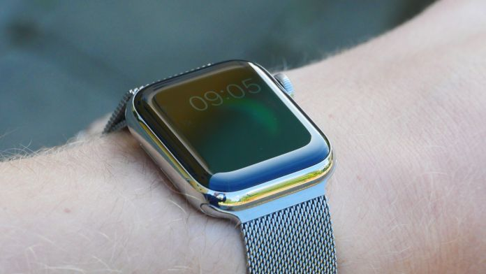 Alltid på-skärm Apple Watch 5