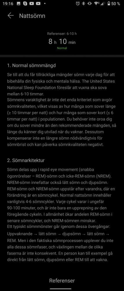 Sömn tips information